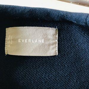 Everlane Shirts - Everlane Navy Blue Classic Pullover Sweatshirt Med